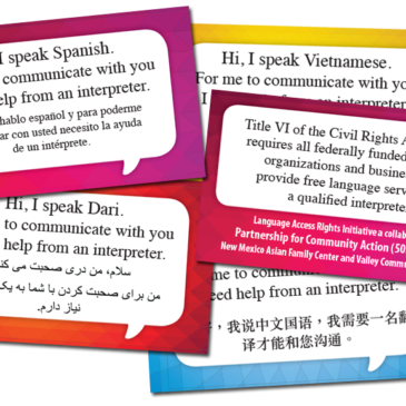 Announcing the Language Access Rights Initiative